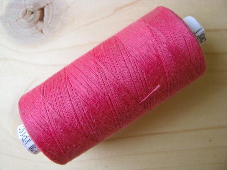 1 Spule Nähgarn in strawberry Fb1416, pinkiges oleander