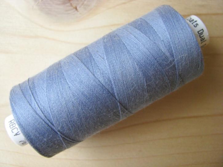 1 Spule Nähgarn in helio-blau Fb0350