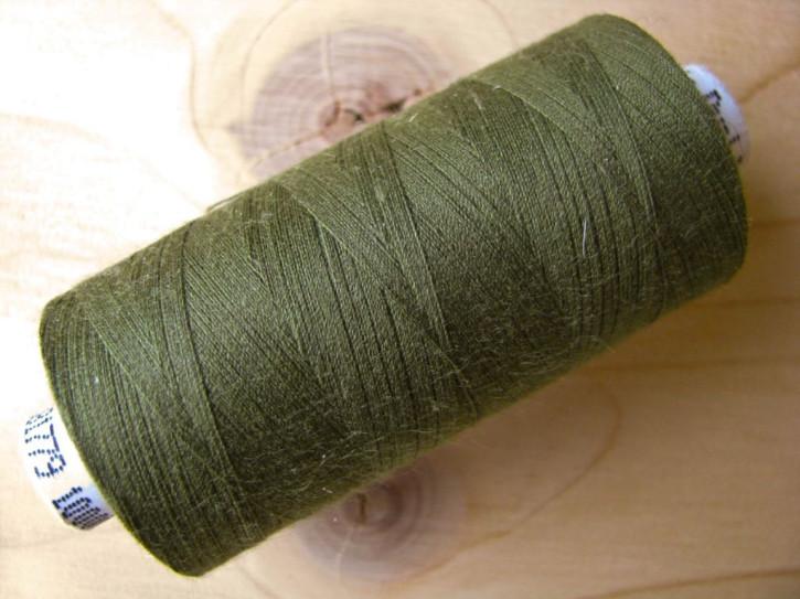 1 Spule Nähgarn in dunklem oliv-grün Fb0660
