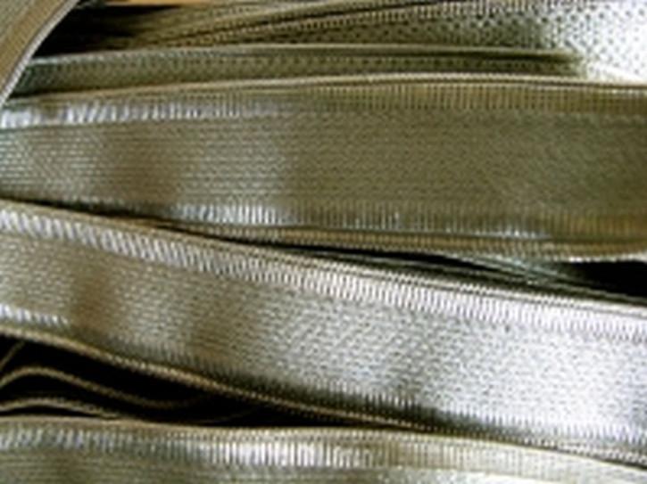 5m Träger-Gummi in jade-grün/schilf
