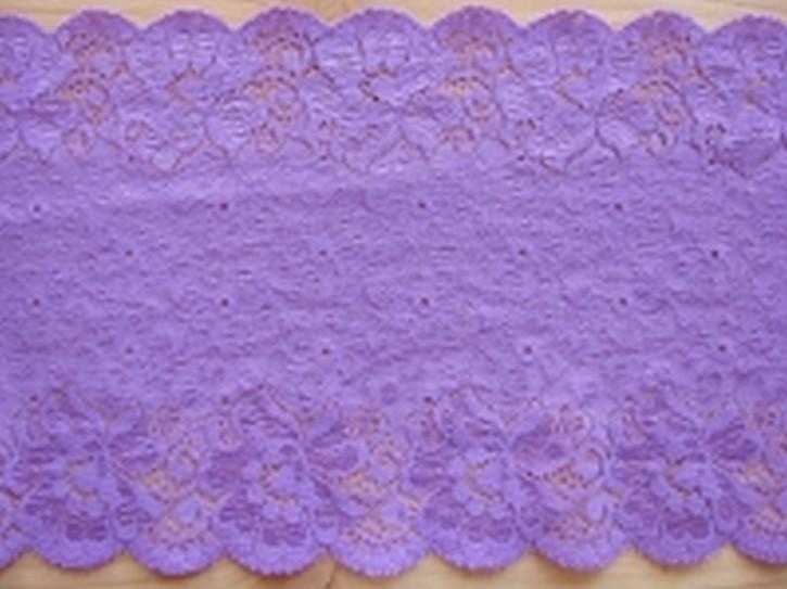 1melastische Spitze in h.violett Fb0030