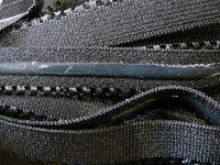 6m Unterbrustgummi/Silikon in schwarz Fb4000