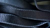 5m Satin-Träger-Gummi in dunklem marine-blau