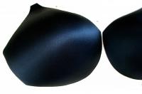 1 Paar BH-Körbchen/Schalen in schwarz 52er