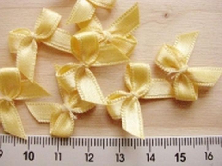 4 Schleifchen in h.gelb Fb1454