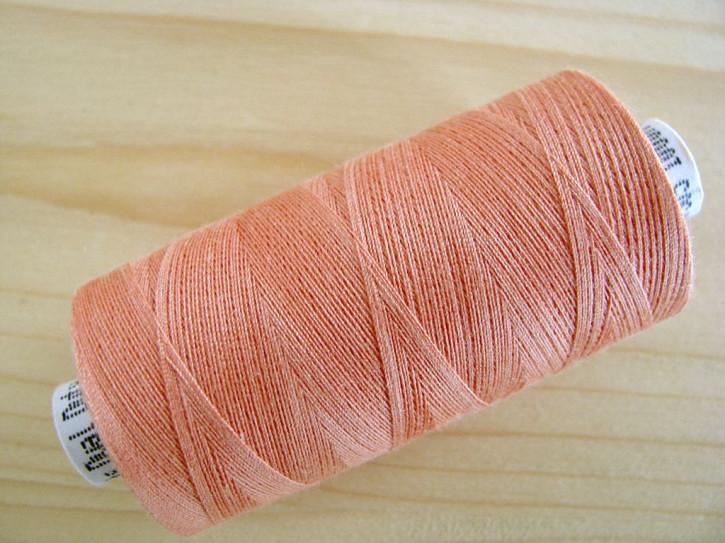 1 Spule Nähgarn pfirsich-blüte Fb0076