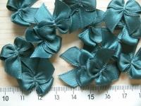 4 Schleifchen in ozean-blau