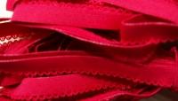 6m Unterbrustgummi in kirsch-rot Fb0504