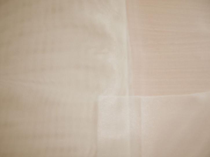1m Charmeuse unelastisch hell-beige Fb0538