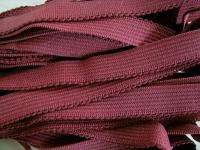 6m Wäschegummi in burgund Fb0109