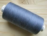 1 Spule Nähgarn in blau-grau Fb0800
