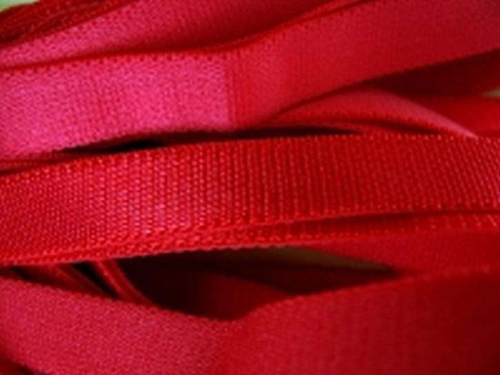 5m Satin-Träger-Gummi in nelken-rot Fb0629