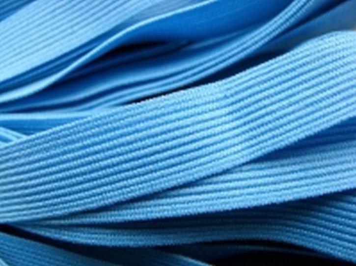 6m Besatz-/Dekolleté-Gummi in gobelin-blau Fb1315