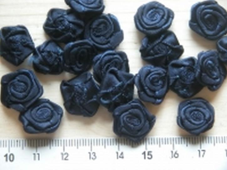 4 Röschen in abend-blau Fb0810