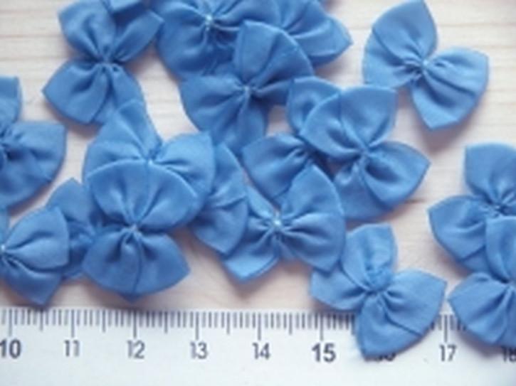 4 Schleifchen in riviera-blau