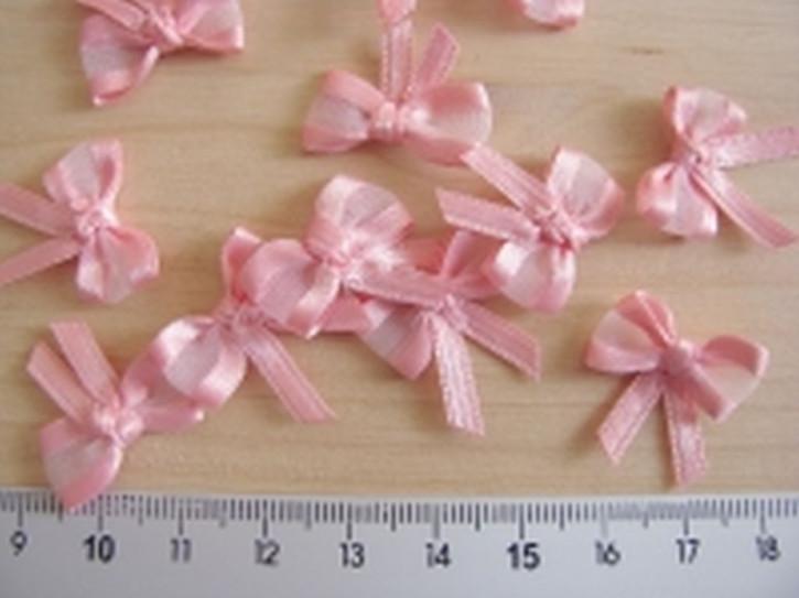4 Schleifchen in rosa