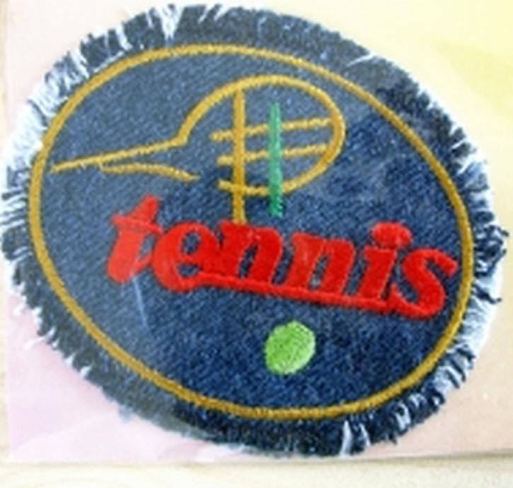 Bügelbild -Tennis-
