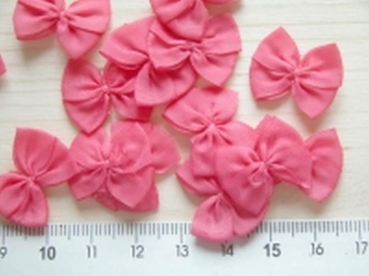 4 Schleifchen in rose