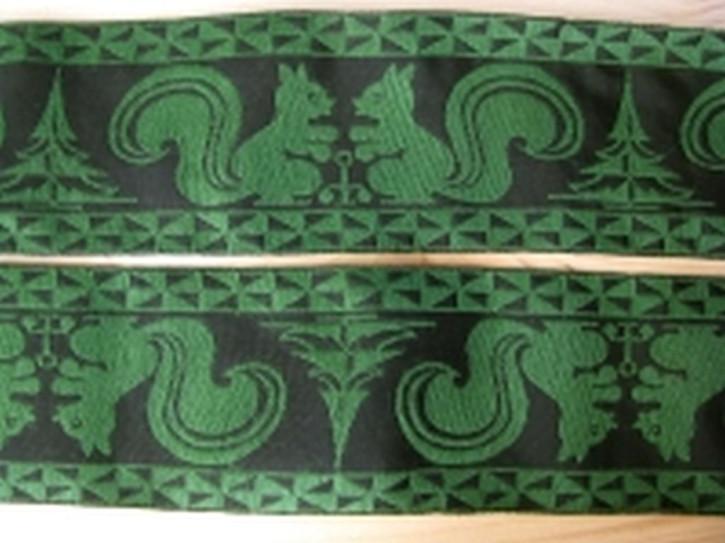 1m Jacquard-Borte tachten-grün Fb1097