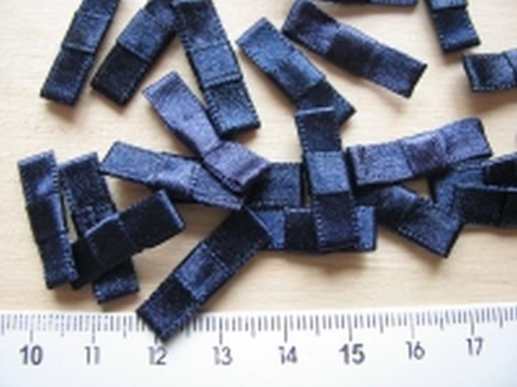 4 Schleifchen in abend-blau