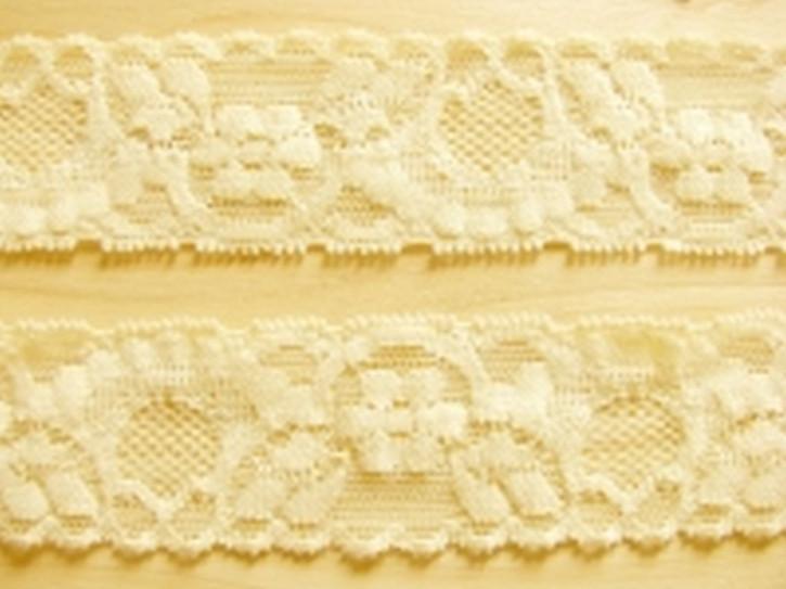 2m elastische Spitze in teerose/z.gelb Fb0129