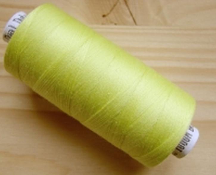 1 Spule Nähgarn in gelb-grün Fb1309