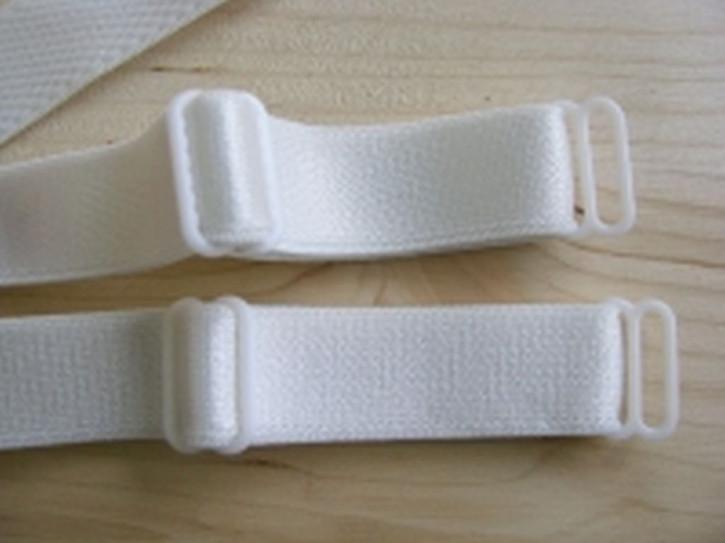 1 Paar fertige Träger in perl-weiß