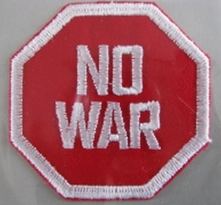 Bügelbild -No War-
