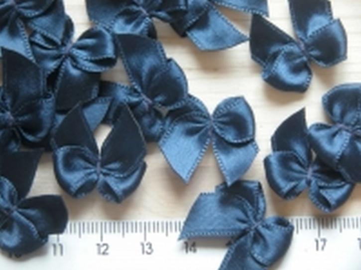 4 Schleifchen in dunkel-blau
