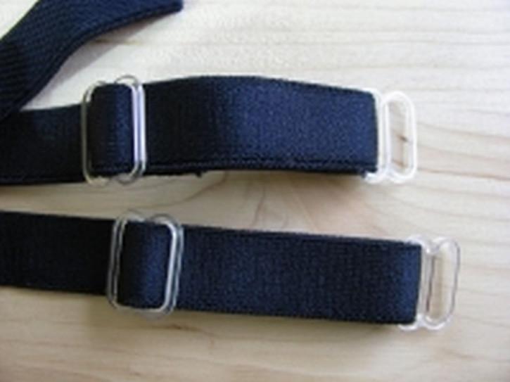1 Paar fertige Träger in abend-blau