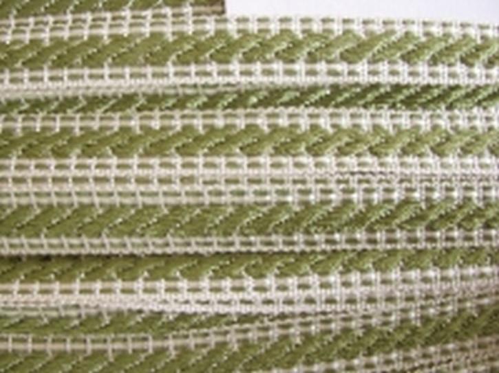 Web-Borte in weiden-grün...