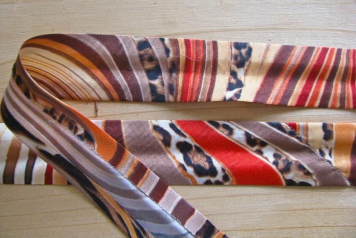 5m Schrägband im Safarie-Look
