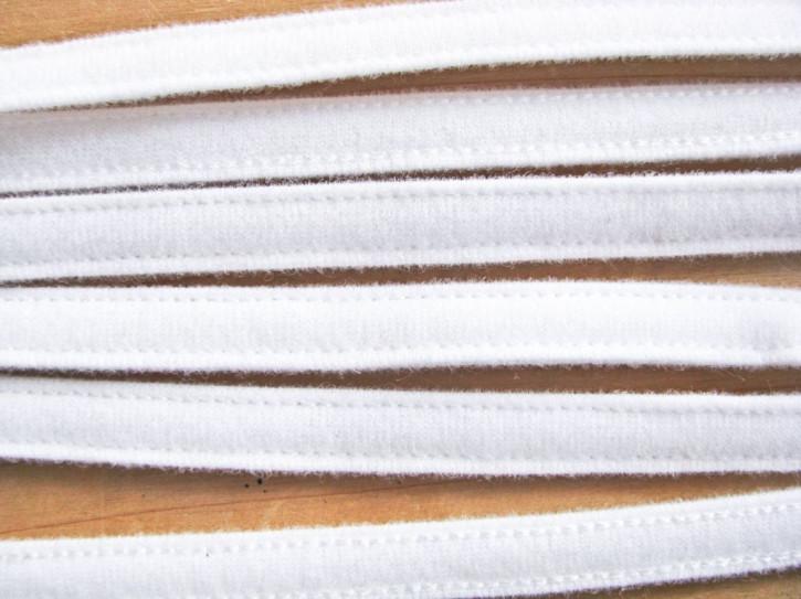 1m Bügelband in rein-weiß Fb2000