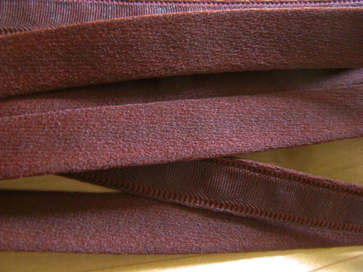 1m Bügelband in rot-braun Fb0175