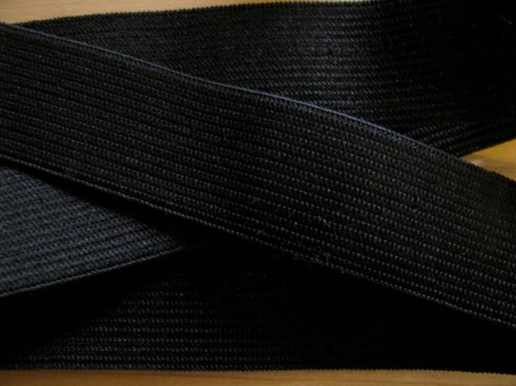 4m Bundgummi in schwarz Fb4000 - 25mm breit