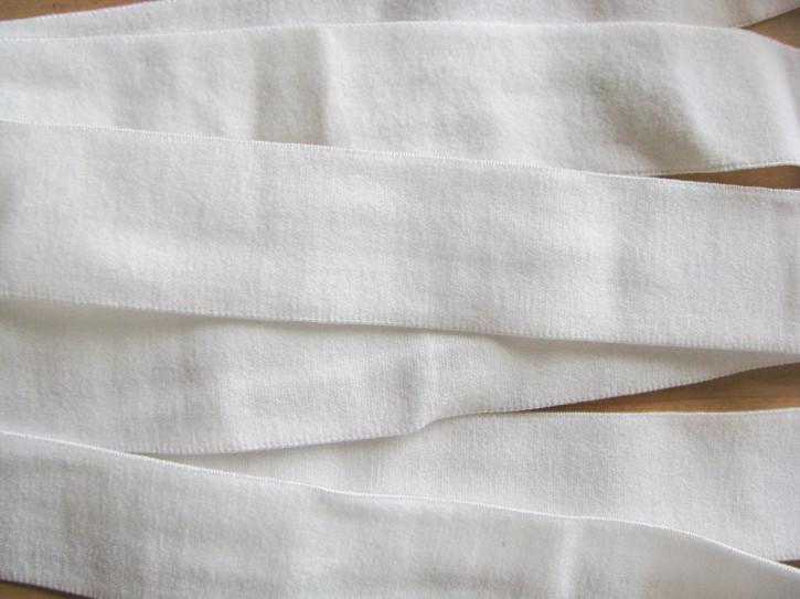 4m Bundgummi  in off-white Fb1000 - 2,6cm