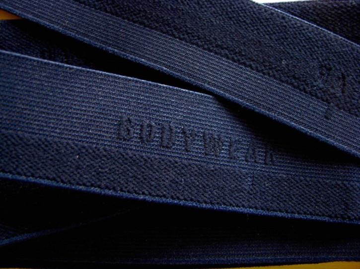 "4m Bundgummi ""Bodywear"" in dunkel-blau Fb0810"