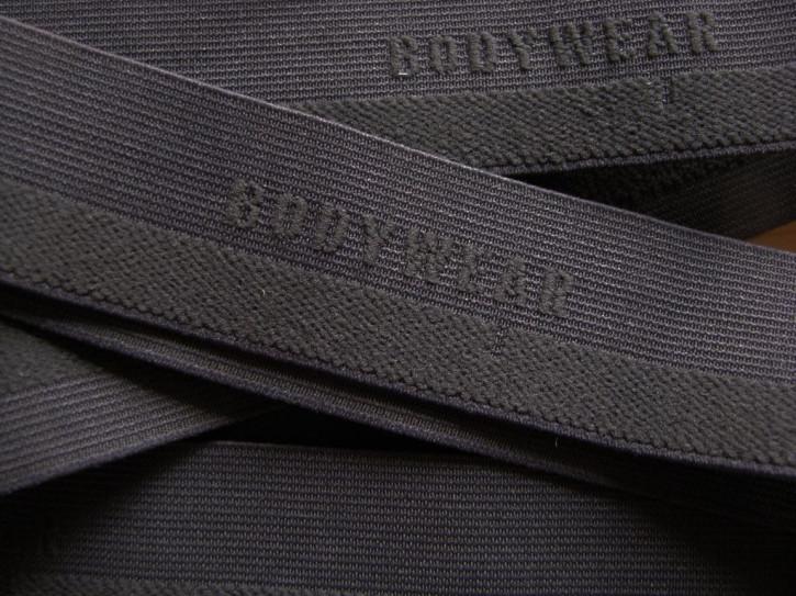 "4m Bundgummi ""Bodywear"" in d.marengo-grau Fb1282"