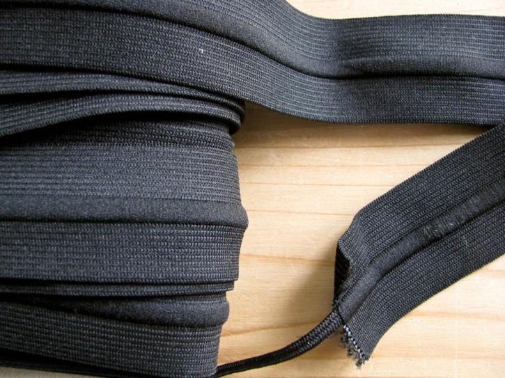 4m Bundgummi mit Kordelzug in schwarz Fb4000
