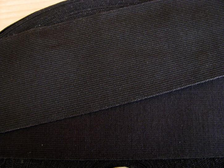 4m Bundgummi  in schwarz Fb4000 - 5,5cm