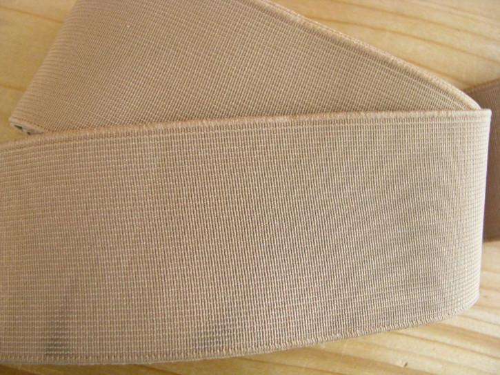 4m Bundgummi in puder/helles make-up - 5cm breit Fb0260