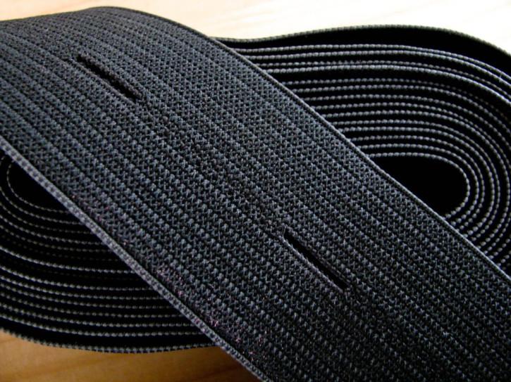 4m Bundgummi in schwarz Fb4000