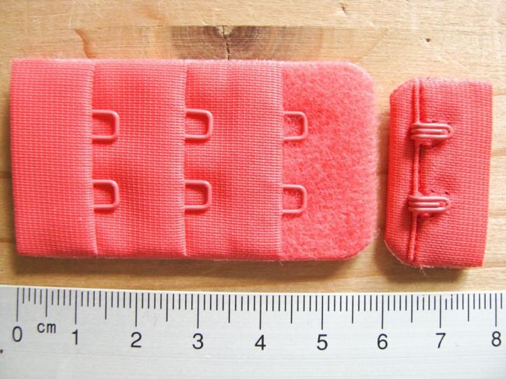 BH-Verschluss - in heller koralle Fb0507