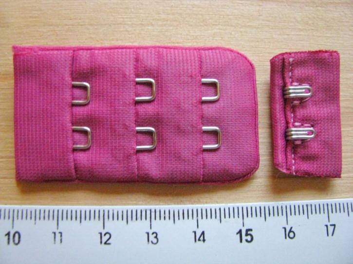 1 Stk. BH-Verschluss in amaranth/lip-stick Fb1417