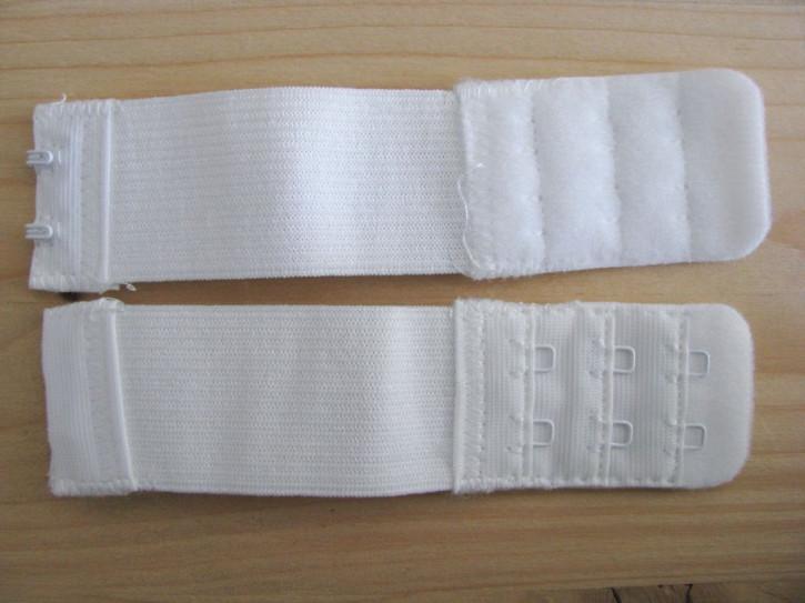1 Stk. BH-Verschluss-Verlängerung in rein-weiß Fb2000