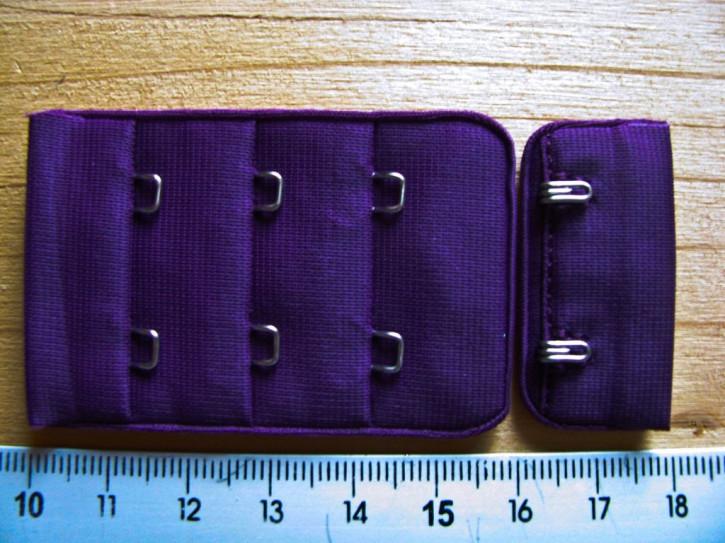 BH-Verschluss - dunkel-lila Fb0578