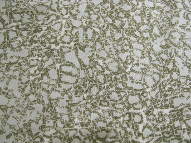 Bi-elastischer Jersey in navy-grün, grau...