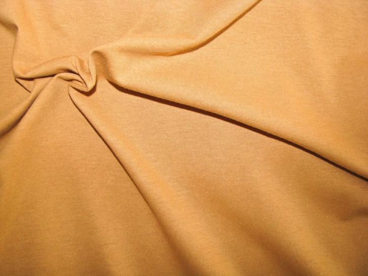 1m Fein-Jersey in senf/goldigem ocker Fb0174