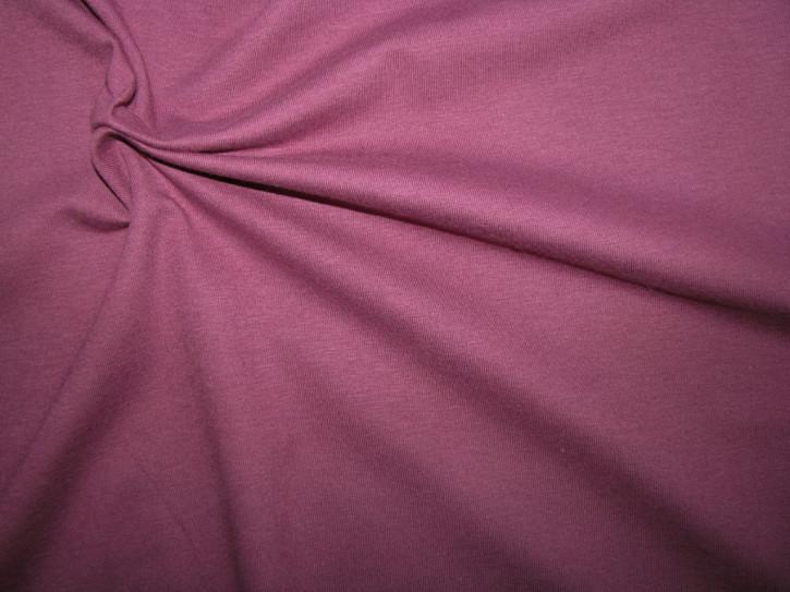 Fein-Jersey in rot-violett Fb0056