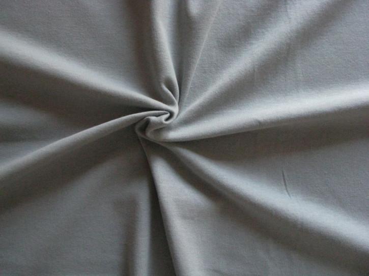 1m Fein-Jersey in platino/hell-grau Fb3501